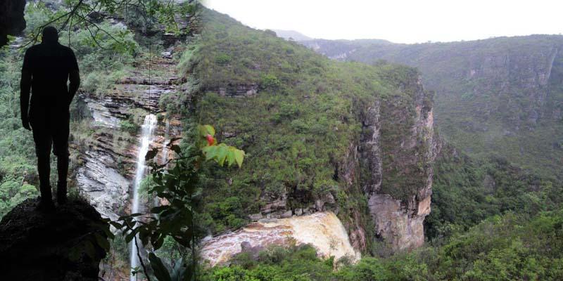 Chapada: Fazer a trilha do Garimpo requer coragem e gosto pela adrenalina