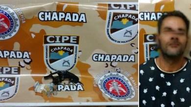 Photo of Chapada: Homem é preso com revólver e droga na zona rural de Souto Soares