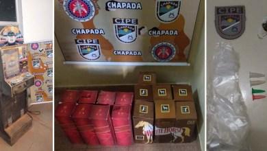 Photo of Chapada: Drogas, máquina caça-níquel e produtos falsificados são apreendidos em Rio do Pires