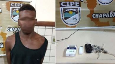 Photo of Chapada: Homem é preso pela Cipe com maconha no município de Érico Cardoso