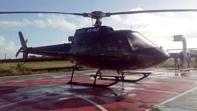 Photo of #Bahia: Helicóptero com presidente da Alba faz pouso de emergência em quadra no município de Castro Alves