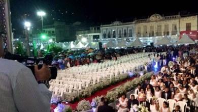 Photo of Chapada: Casamento coletivo com mais de 200 casais movimenta o município de Jacobina