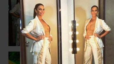 Photo of Ivete Sangalo anuncia gravidez de gêmeos aos 45 anos: 'Não sei por que essa calça não fecha?'