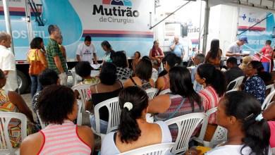 Photo of #Bahia: Mutirão de Cirurgias chega a Santo Estêvão com cerca de 11 mil procedimentos já realizados