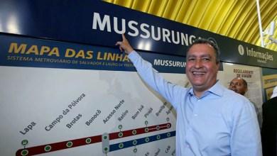 Photo of #Salvador: Governo amplia metrô com mais 7,5 km de trilhos e chega até Mussurunga