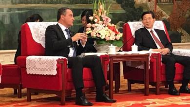 """Photo of """"Vamos estudar e aprender com a Bahia"""", diz prefeito chinês em reunião com Rui Costa"""