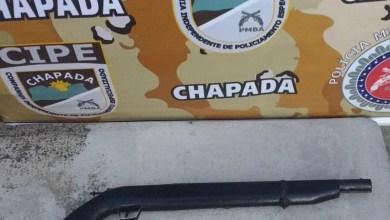 Photo of Chapada: Menor é apreendido por policiais da Cipe com arma de fogo em Ruy Barbosa