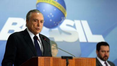 Photo of #Brasil: Presidente Temer não vai recorrer da quebra de seu sigilo bancário