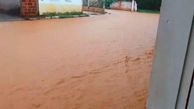 Photo of #Bahia: Moradores de São Desidério relatam caos com forte chuva que alagou ruas e derrubou muros