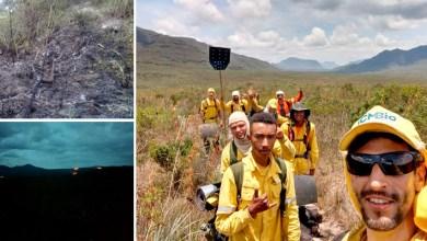 Photo of Chapada: Brigadistas contêm fogo que atingiu vegetação próxima ao Vale do Pati; veja fotos