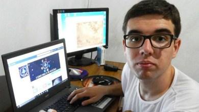 Photo of Jovem baiano com milhares de seguidores na internet fez relato sobre clarão causado por meteorito