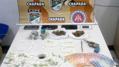 Photo of Chapada: Quadrilha de traficantes é desarticulada pela polícia em Iraquara com arma, drogas e dinheiro