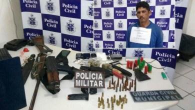 Photo of Baixa Grande: Assaltante de banco é capturado com fuzil, pistolas e carregador de metralhadora