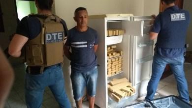 Photo of #Bahia: Homem é preso com 100 quilos de maconha escondidos na geladeira