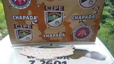 Photo of Chapada: Policiais da Cipe apreendem explosivos na zona rural de Novo Horizonte