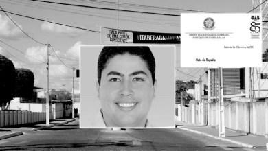 Photo of Chapada: OAB de Itaberaba publica nota de repúdio em defesa do político Leonardo Moscoso