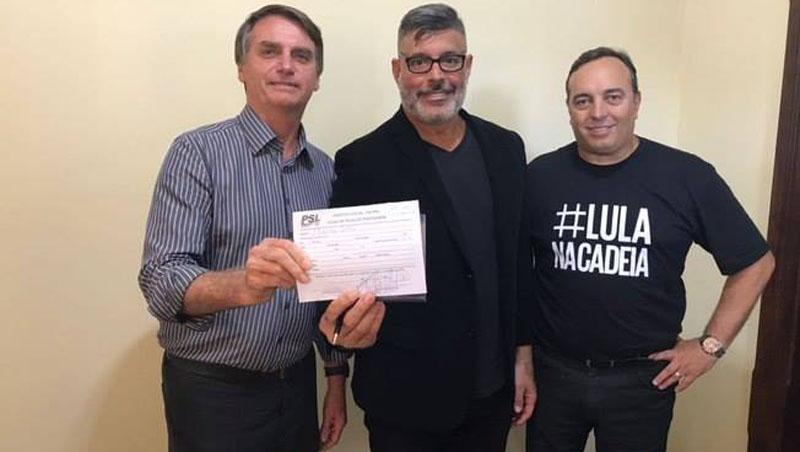#Vídeo: Ex-ator pornô Alexandre Frota é cotado para Ministério da Cultura por Bolsonaro