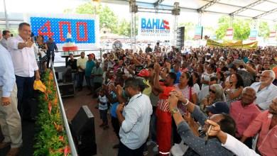 Photo of #Bahia: Viagem 400 do governador Rui Costa reúne 92 prefeitos em Santo Estevão
