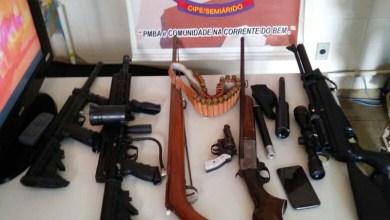 Photo of #Bahia: Carabinas e espingardas são apreendidas por policiais da Cipe-Semiárido em Irecê