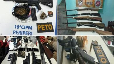 Photo of #Bahia: Polícia baiana apreende nove armas de fogo por dia em 2018, aponta SSP