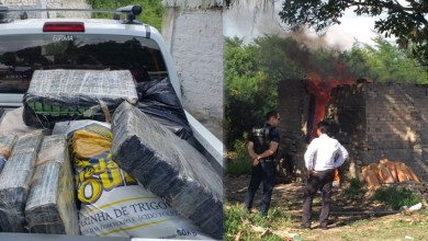Photo of #Bahia: Uma tonelada de drogas é incinerada pela polícia no município de Santo Estevão