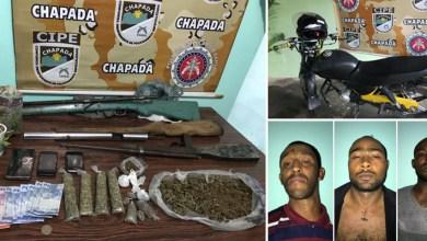 Photo of Chapada: Operação policial desarticula quadrilha de traficantes no município de Mucugê