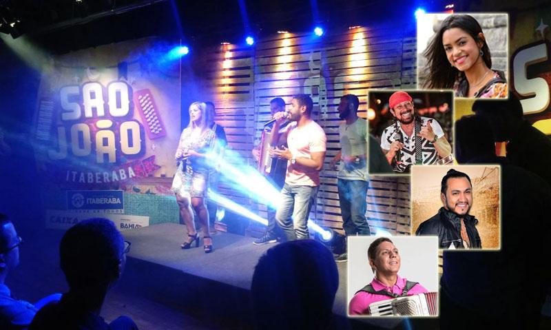 Chapada: Itaberaba divulga grade completa do São João e confirma grandes atrações como Bell, Lucy, Aduílio e Márcia Fellipe