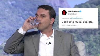 Photo of #Internet: Netflix responde o filho de Bolsonaro e vira meme: 'Você está louca, querida'