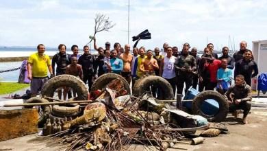 Photo of #Salvador: Projeto de vereadora retira mais meia tonelada do mar em ação no Comércio