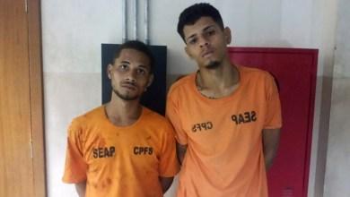 Photo of #Bahia: Polícia Militar recaptura dois fugitivos do Presídio Regional em Feira de Santana