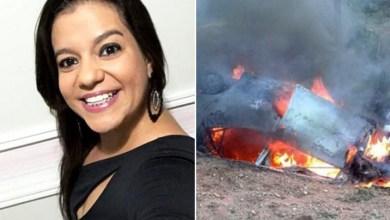Photo of Chapada: Mulher morre em acidente onde carro pegou fogo na região de Piritiba