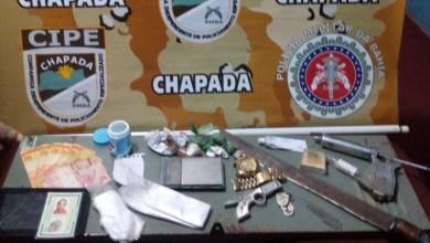 Photo of Utinga: Cipe-Chapada apoia policial e prende dupla de supostos traficantes com drogas