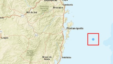 Photo of #Brasil: Tremor de terra de 3,6 de magnitude na Escala Richter é sentido em Santa Catarina