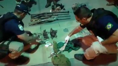 Photo of Chapada: Caçadores com animais silvestres mortos, armas e munições são presos pela PRF em Seabra