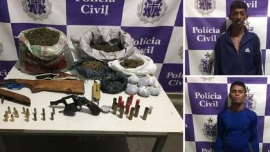 Photo of #Bahia: Polícia prende traficantes com sete quilos e meio de maconha em Juazeiro