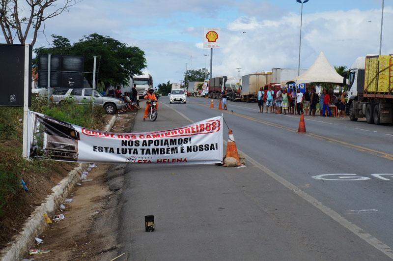 Chapada Diamantina já sente as consequências da greve dos caminhoneiros; alguns postos estão sem combustíveis