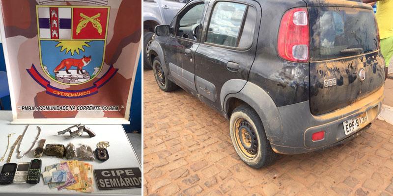 Chapada: Motorista do tráfico que integrava quadrilha do 'Ás de Ouro' é preso em Cafarnaum