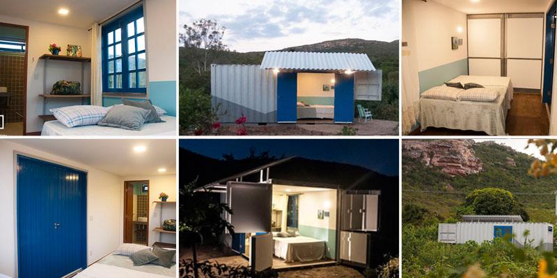 #Fotos: Topa morar em um container luxuoso na Chapada Diamantina?