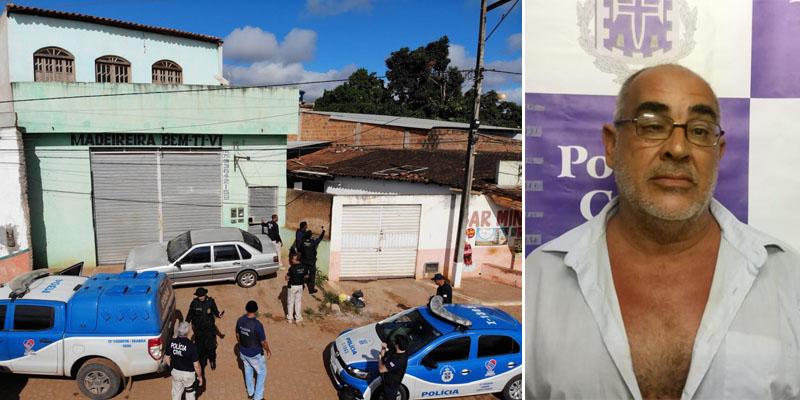 Chapada: Polícia prende homem que tentou matar policiais no município de Iraquara