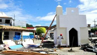 Photo of #SãoJoão: Festejo junino em Itaberaba já está com infraestrutura sendo finalizada