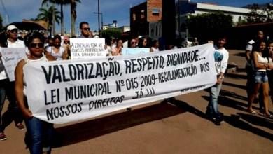 Photo of Chapada: Professores da rede municipal em Barra da Estiva realizam manifestação por reajuste salarial