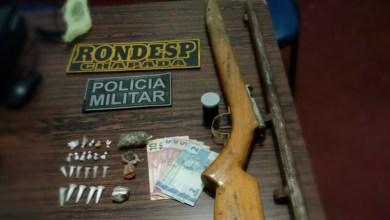 Photo of Chapada: Arma e drogas são apreendidas pela polícia no município de Boa Vista do Tupim