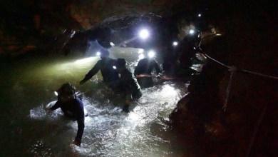 Photo of #Mundo: Time de futebol juvenil da Tailândia está preso com seu treinador em caverna há dias
