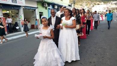 Photo of Chapada: Casamento coletivo movimenta praça pública de Jacobina com cerca de 380 noivas