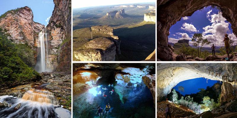 Parque Nacional da Chapada Diamantina tem muitas belezas naturais para conhecer; saiba mais