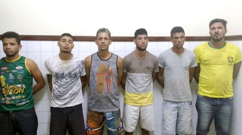 Chapada: Seis traficantes são presos e drogas são apreendidas em operação da Cipe no município de Itaetê