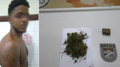 Photo of Chapada: Traficante é descoberto pela Cipe após agredir esposa no município de Iaçu