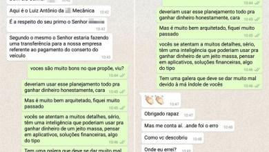 Photo of #Brasil: Estelionatário pede sugestão à vítima para melhorar golpe via aplicativo de celular