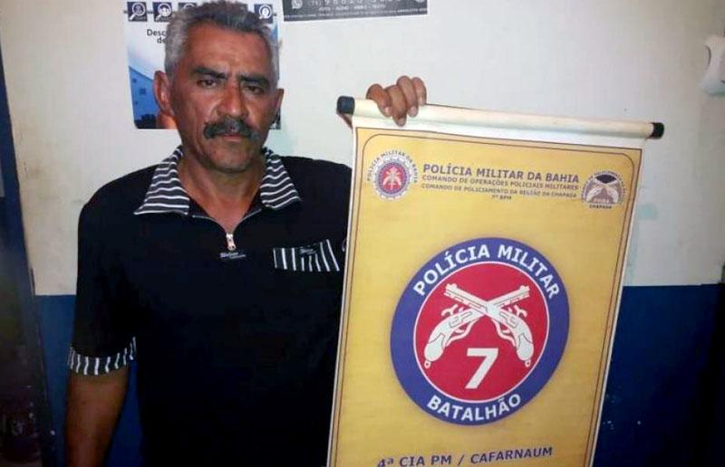 Chapada: Polícia prende homem acusado de homicídio após denúncia em Cafarnaum