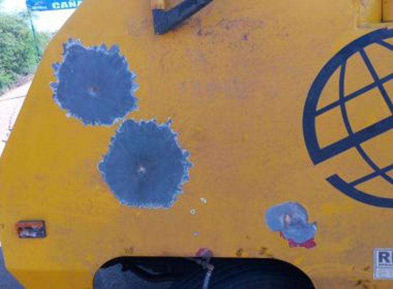 Chapada: Grupo tenta assaltar carro-forte e incendeia veículo na região de Canarana